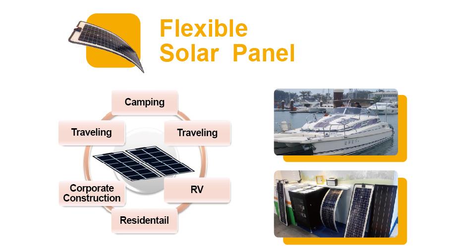 Solar太陽能-Flexible Solar Panel